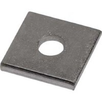 "Buy Plain Steel Plate Washer 3/8"" x 3"" x 3"" w/1-1/16"" Hole ..."