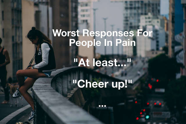 people in pain