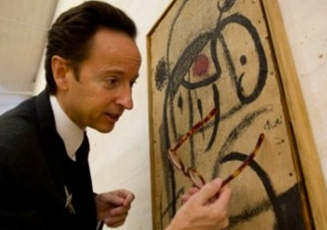 Joan Miro's paints auctioned