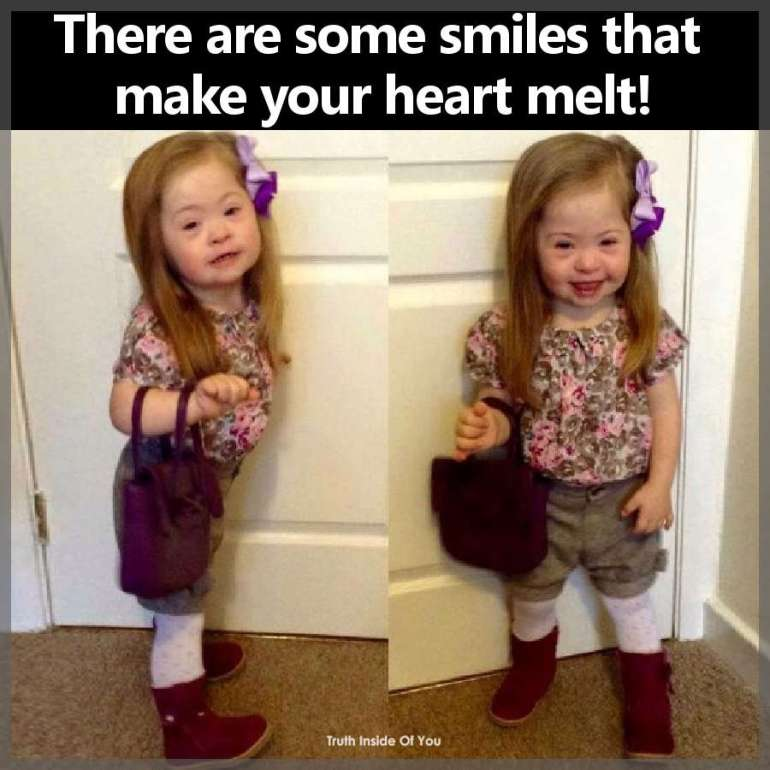 There are some smiles that make your heart melt!
