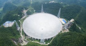 World's Largest Radio Telescope Completes Installation