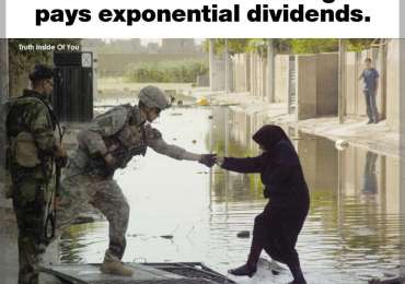 Kindness costs us nothing and pays exponential dividends.