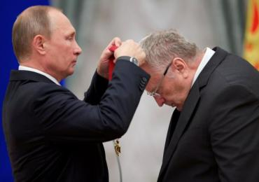 Russian President Putin attends awarding ceremony in Moscow