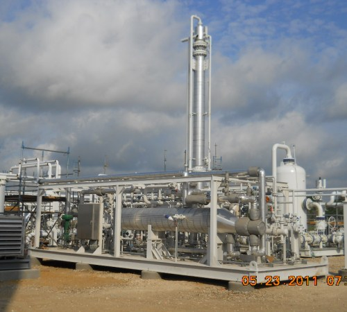 465 BBL Condensate Stabilizer Heated w/ Residue Gas