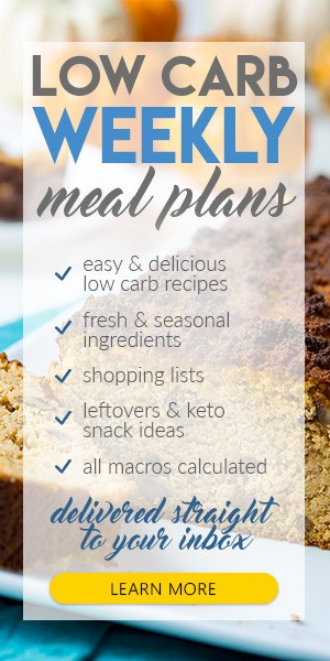 Weekly Keto Weight Loss Meal Plans - Low Carb Meal Plans TryLowCarb