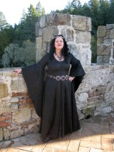 Gothic gothic fitted dress