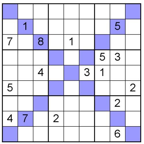 Free Sudoku X Puzzle