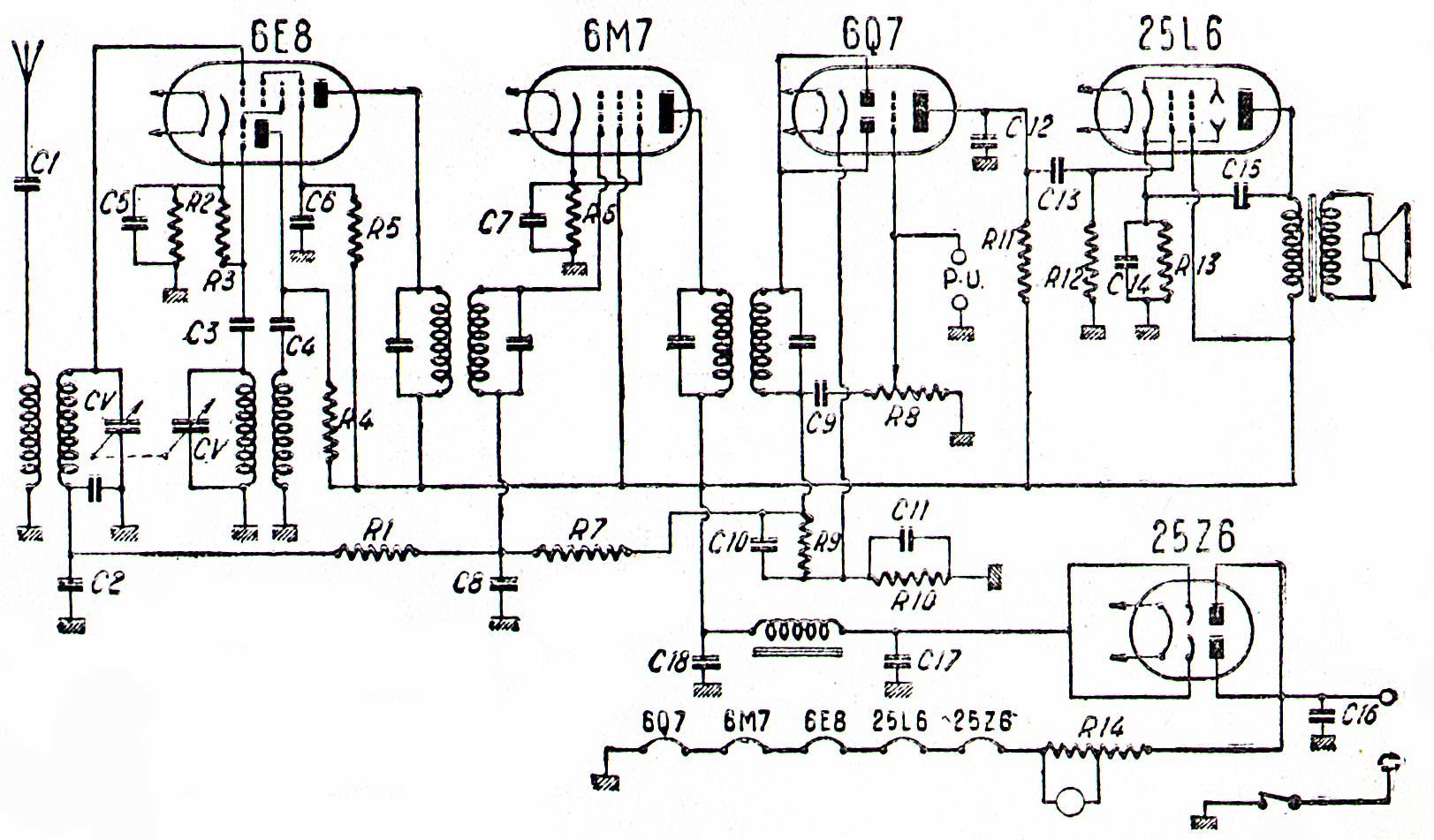 mf 40 schema cablage