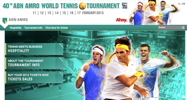 ABN AMRO homepage