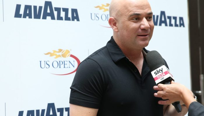 andre agassi and lavazza team up to give back