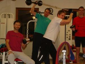 Kraft und Fitness