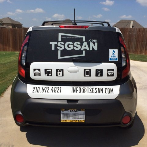 TSGSAN 2014 Vehicle back