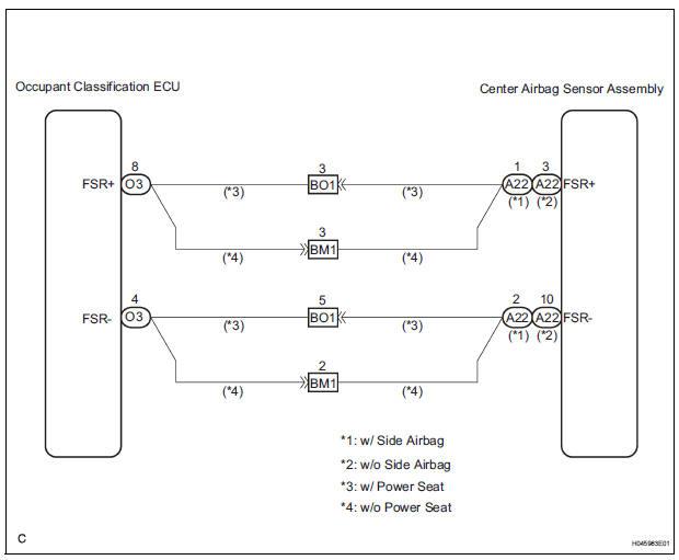 Air Bag Schematics Seat Sensor Schematic Diagram