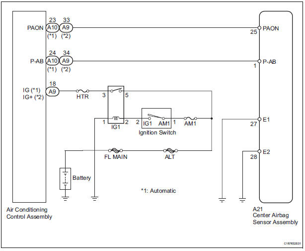 Airbag Electrical Diagram Index listing of wiring diagrams