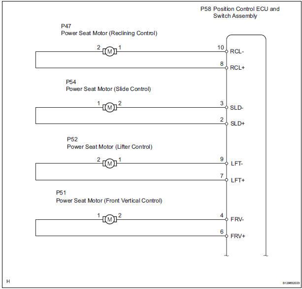 Front Power Seat Wiring Diagram Toyota Wiring Diagram