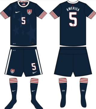 USA 2014 World Cup jersey away nike