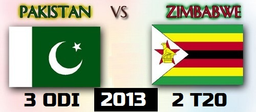 Pakistan vs Zimbabwe 2013 Live Stream