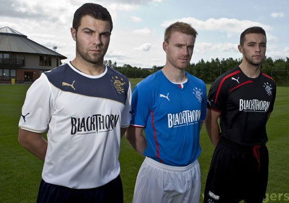 Rangers Kits 2014 home away 3rd shirts