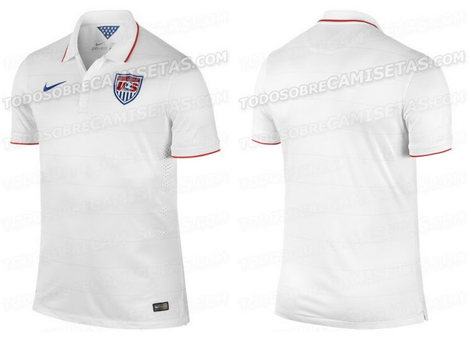 USA 2014 World CUp Home Kit