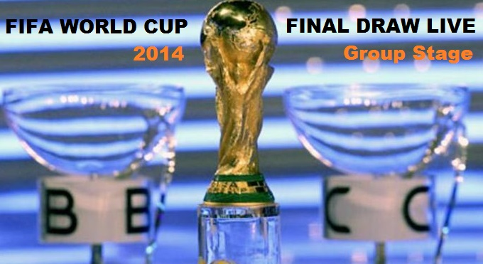 All FIFA WOrld CUp 2014 Group Stage Draw Results