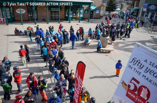 Ted Ligety Homecoming Crowd