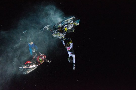 Colten Moore and Joe Parsons, Snowmobile Speed and Style, Gold M