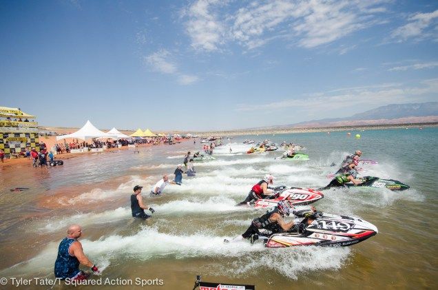 Pro-AM Ski GP; Pro Watercross Tour; Sand Hollow State Park, Utah; June 27, 2015; Photo: Tyler Tate/T Squared Action Sports