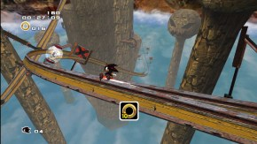 Shadow the Hedgehog in Sky Rail