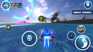 The adaptive joystick may cause problems for some players.