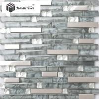 Mosaic Stainless Steel Backsplash. Free Glass Mosaic Tile ...