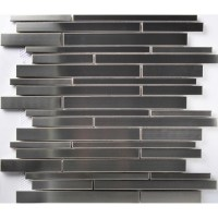 TST Stainless Steel Mosaic Tile Silver Mirror Glass Tiles ...