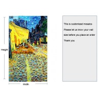 TST Mosaic Murals Deco Wall Customized Art Mosaic Van Gogh