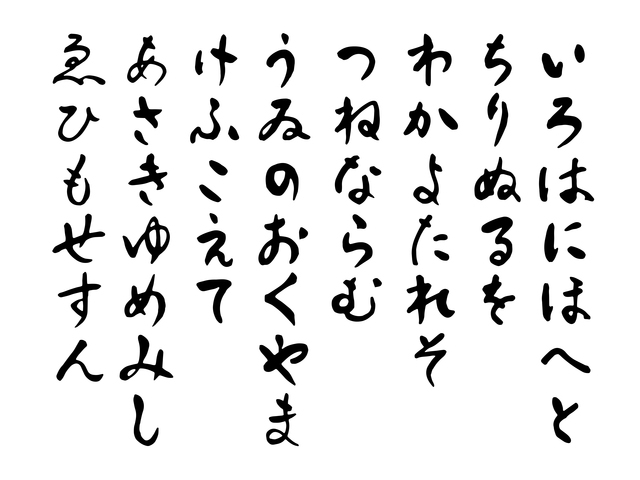 13 Facts You Did Not Know About Hiragana, The Japanese Alphabet - hiragana alphabet chart