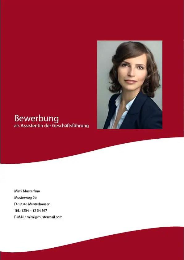 Deckblatt In Der Bewerbung - Über 100 Kostenlose Muster & Vorlagen!