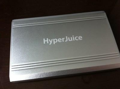 MacBook Airを24時間駆動に変える最強バッテリー! HyperJuice MBP-100を楽天で購入!