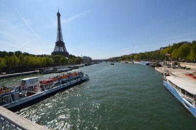 セーヌ川河岸 — パリの象徴であり起源!快晴の空の下エッフェル塔を臨む! 美しすぎるパリ写真日記 — ヨーロッパ旅行記 2012 vol.17