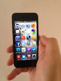14時間の行列の末、iPhone5 SoftBank 64GB Black をゲットしました!!