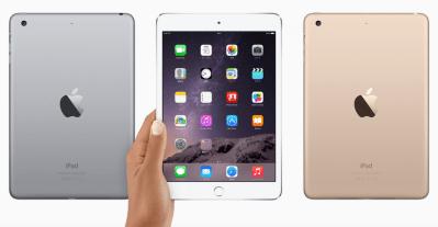 iPad mini 3 SIMフリー版いきます! Apple新製品発表イベントをチェックして思うこと