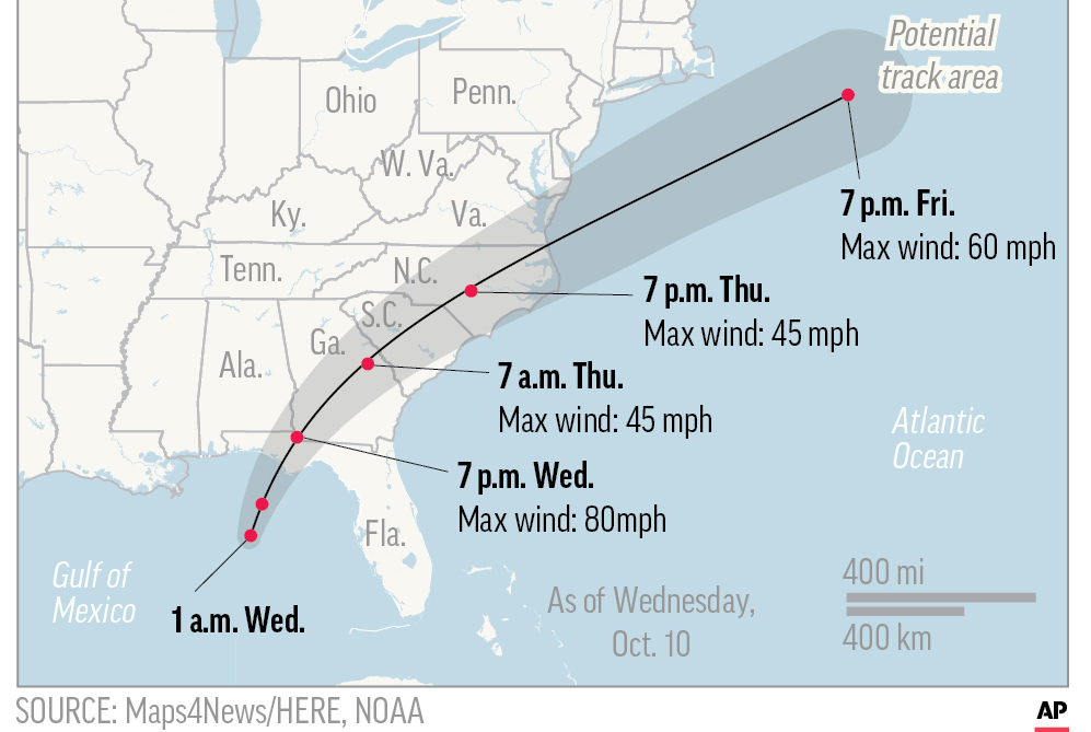 Hurricane Michael Hits Florida Panhandle Transport Topics