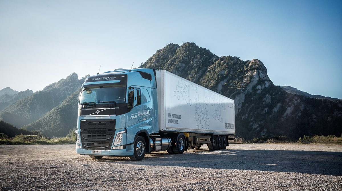Hd Puzzle Wallpaper Volvo Trucks Adds Gas Powered Trucks In Europe Transport
