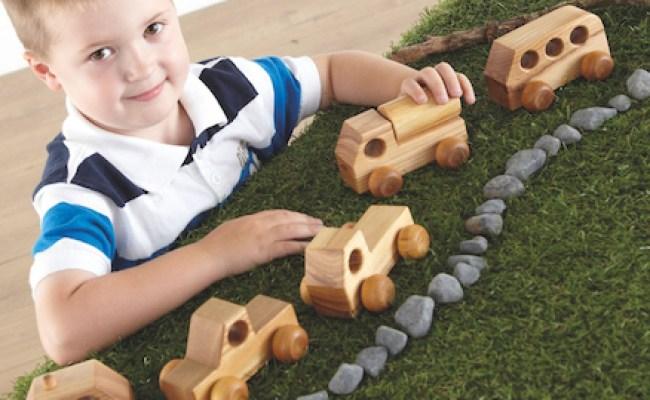 Buy Mini Wooden Vehicles 5pk Tts