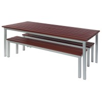 Buy Outdoor Tables and Benches Set | TTS
