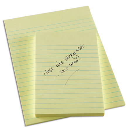 Buy Lined Sticky Note Pads TTS - stickey notes