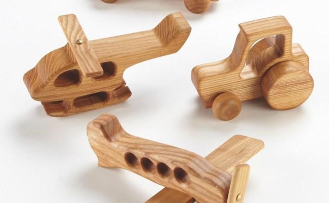 Buy Small World Wooden Car And Vehicles Set 4pk Tts