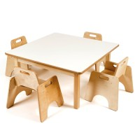Buy Low Toddler Square Table H380mm | TTS