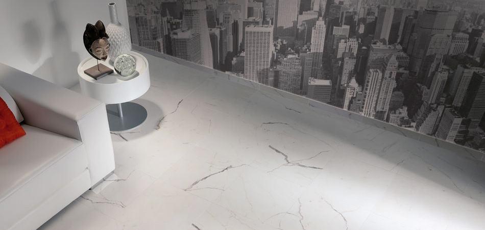 Colorker Estatuario White Marble Look Tile Best Kitchen