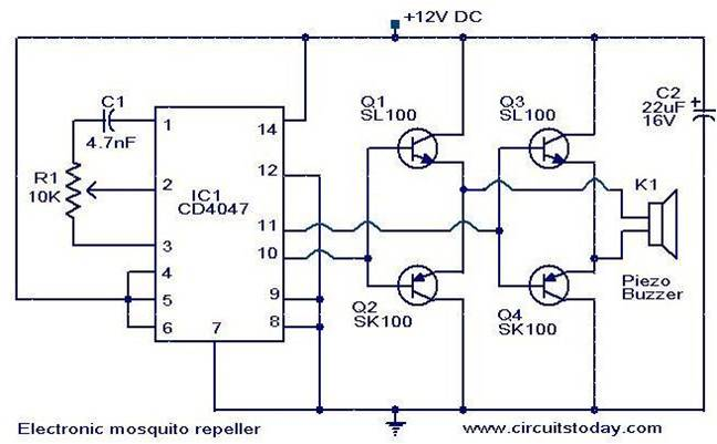 circuit project sample