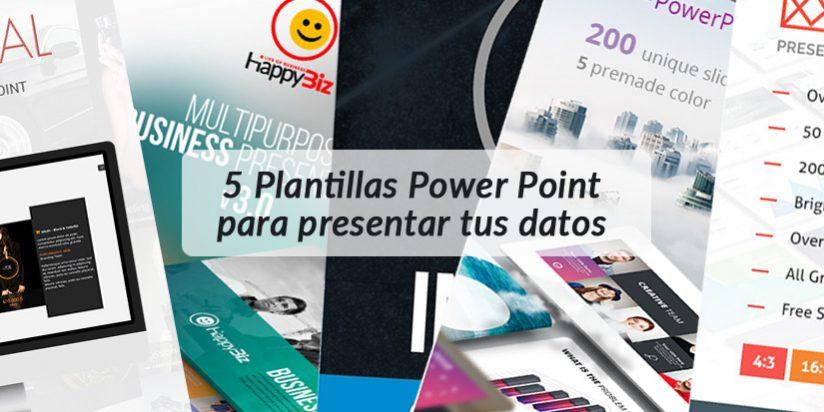 5 Plantillas Power Point para presentar tus datos analíticos 📊
