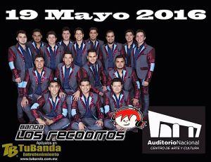Banda Los Recoditos en el Auditorio Nacional @ Auditorio Nacional | Ciudad de México | Distrito Federal | México