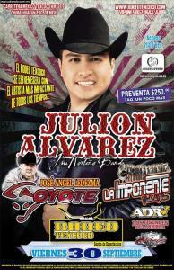 Julión Álvarez y El Coyote en Rodeo Texcoco @ Rodeo Texcoco